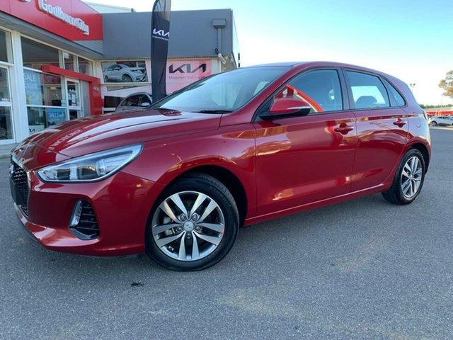Used Hyundai i30 Active Goulburn, 2019 Hyundai i30 Active Red Sports Automatic Hatchback