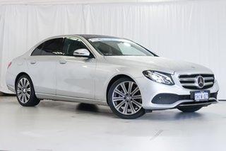 2016 Mercedes-Benz E-Class W213 E200 9G-Tronic PLUS Silver 9 Speed Sports Automatic Sedan.