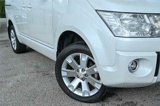 2009 Mitsubishi Delica D:5 White Constant Variable Van Wagon.