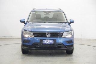 2017 Volkswagen Tiguan 5N MY17 110TSI DSG 2WD Trendline Caribbean Blue 6 Speed.