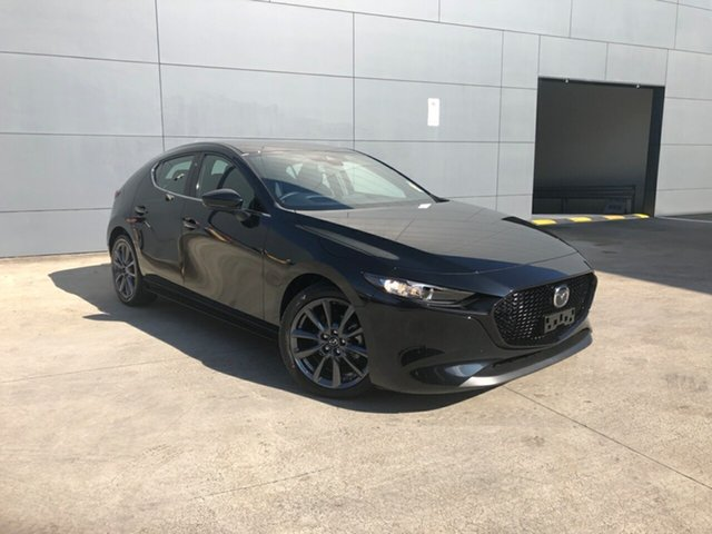 New Mazda 3 BP2H7A G20 SKYACTIV-Drive Touring Alexandria, 2021 Mazda 3 BP2H7A G20 SKYACTIV-Drive Touring Jet Black 6 Speed Sports Automatic Hatchback