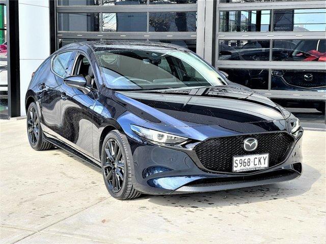 Demo Mazda 3 BP2HLA G25 SKYACTIV-Drive Astina Edwardstown, 2021 Mazda 3 G25 SKYACTIV-Drive Astina Hatchback