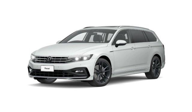 New Volkswagen Passat 3C (B8) MY21 206TSI DSG 4MOTION R-Line Port Melbourne, 2021 Volkswagen Passat 3C (B8) MY21 206TSI DSG 4MOTION R-Line White 6 Speed