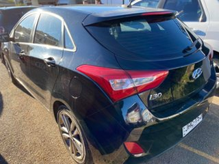 2015 Hyundai i30 GD3 Series II MY16 SR Premium Black 6 Speed Sports Automatic Hatchback.