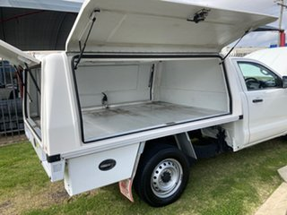 2015 Ford Ranger PX MkII XL 2.2 (4x2) White 6 Speed Manual Cab Chassis