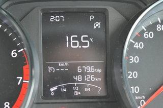 2014 Volkswagen Polo 6R MY15 66TSI DSG Trendline White 7 Speed Sports Automatic Dual Clutch