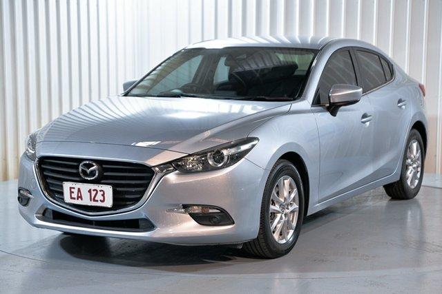 Used Mazda 3 BN5278 Maxx SKYACTIV-Drive Hendra, 2017 Mazda 3 BN5278 Maxx SKYACTIV-Drive Silver 6 Speed Sports Automatic Sedan