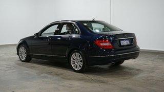 2013 Mercedes-Benz C-Class W204 MY13 C250 7G-Tronic + Avantgarde Blue 7 Speed Sports Automatic Sedan.