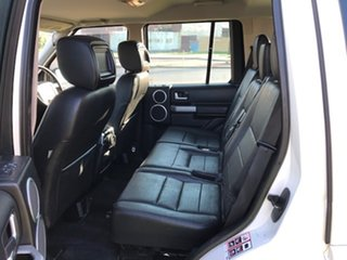 2009 Land Rover Discovery 3 Series 3 09MY SE White 6 Speed Sports Automatic Wagon