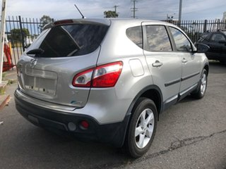 2010 Nissan Dualis J10 MY10 ST (4x2) Silver 6 Speed CVT Auto Sequential Wagon.