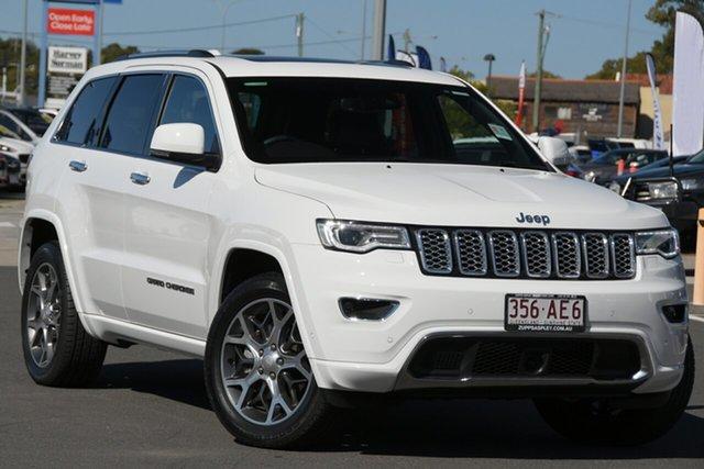 Used Jeep Grand Cherokee WK MY20 Overland Aspley, 2020 Jeep Grand Cherokee WK MY20 Overland Bright White 8 Speed Sports Automatic Wagon