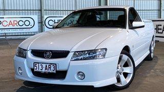2007 Holden Ute VZ MY06 SV6 White 5 Speed Automatic Utility.