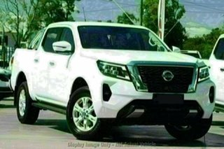 2021 Nissan Navara D23 MY21 ST (4x2) White Pearl 7 Speed Automated Manual Dual Cab Pick-up