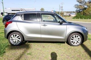 2021 Suzuki Swift AZ Series II GL Navigator Premium Silver 1 Speed Constant Variable Hatchback.