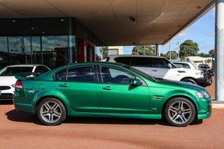 2011 Holden Commodore VE II SV6 Green 6 Speed Sports Automatic Sedan