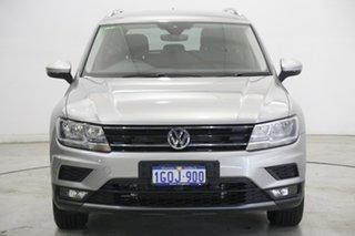 2018 Volkswagen Tiguan 5N MY19 132TSI DSG 4MOTION Comfortline Grey 7 Speed.