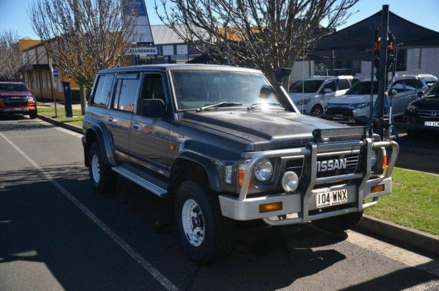 Used Nissan Patrol RX (4x4) Toowoomba, 1993 Nissan Patrol RX (4x4) Grey 5 Speed Manual 4x4 Wagon