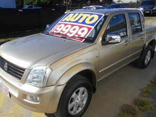 2006 Holden Rodeo RA MY06 LT Crew Cab 4x2 Gold 4 Speed Automatic Utility.