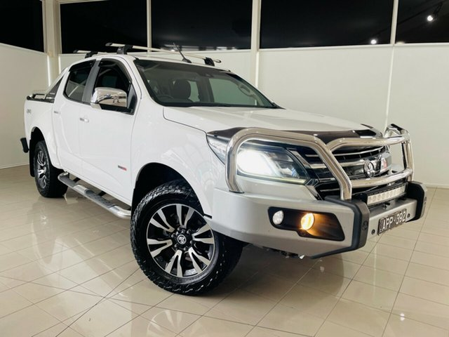 Used Holden Colorado RG MY16 LTZ Crew Cab Deer Park, 2016 Holden Colorado RG MY16 LTZ Crew Cab White 6 Speed Sports Automatic Utility