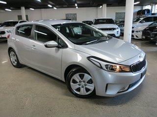 2018 Kia Cerato BD MY19 S Silver 6 Speed Sports Automatic Hatchback.