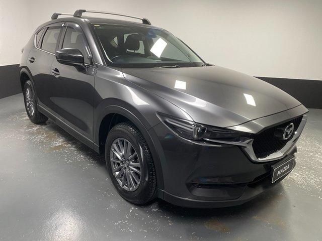 Used Mazda CX-5 KF2W7A Maxx SKYACTIV-Drive FWD Sport Cardiff, 2017 Mazda CX-5 KF2W7A Maxx SKYACTIV-Drive FWD Sport Grey 6 Speed Sports Automatic Wagon