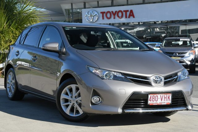 Pre-Owned Toyota Corolla ZRE182R Ascent Sport S-CVT North Lakes, 2014 Toyota Corolla ZRE182R Ascent Sport S-CVT Positano Bronze 7 Speed Constant Variable Hatchback