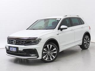 2019 Volkswagen Tiguan 5NA MY19 162 TSI Highline White 7 Speed Auto Direct Shift Wagon.
