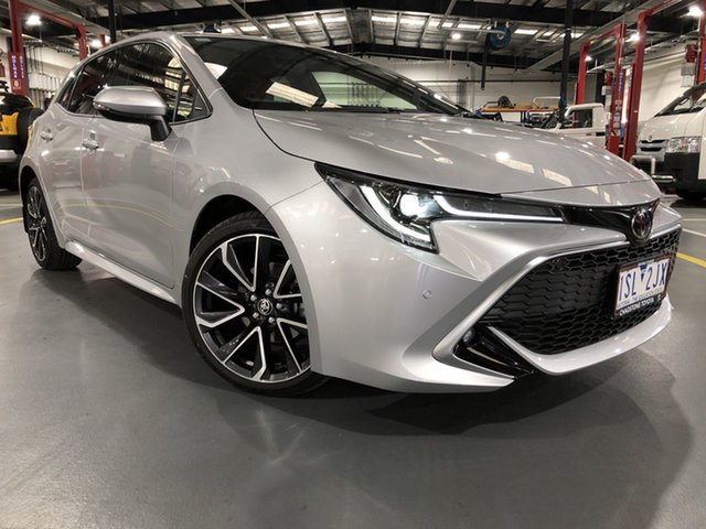 Pre-Owned Toyota Corolla Mzea12R ZR Oakleigh, 2020 Toyota Corolla Mzea12R ZR Silver Pearl 10 Speed Constant Variable Hatchback