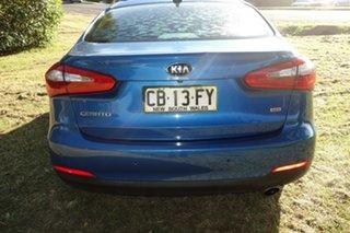 2013 Kia Cerato TD MY13 SLi Blue 6 Speed Sports Automatic Sedan