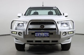 2012 Holden Colorado RG LX (4x2) White 6 Speed Automatic Cab Chassis.