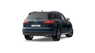 2021 Volkswagen Touareg CR 210TDI R-Line Aquamarine Blue Metallic 8 Speed Automatic SUV
