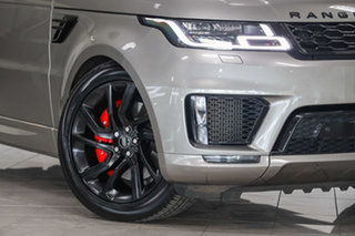 2018 Land Rover Range Rover Sport L494 18MY SDV8 HSE Dynamic Silicon Silver 8 Speed Sports Automatic