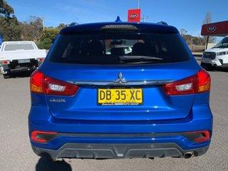 2017 Mitsubishi ASX LS Blue Constant Variable Wagon