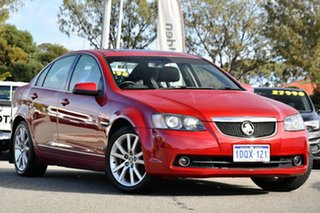 2011 Holden Calais VE II Red 6 Speed Sports Automatic Sedan.