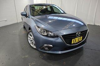 2015 Mazda 3 BM5238 SP25 SKYACTIV-Drive Blue 6 Speed Sports Automatic Sedan.