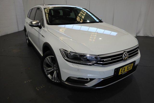 Used Volkswagen Passat 3C (B8) MY16 140TDI DSG 4MOTION Alltrack Castle Hill, 2016 Volkswagen Passat 3C (B8) MY16 140TDI DSG 4MOTION Alltrack White 6 Speed