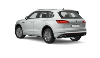 2021 Volkswagen Touareg CR MY21 170TDI Tiptronic 4MOTION White 8 Speed Sports Automatic Wagon.