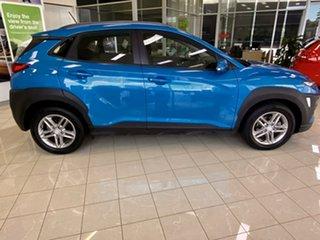 2017 Hyundai Kona OS MY18 Active 2WD Blue 6 Speed Sports Automatic Wagon