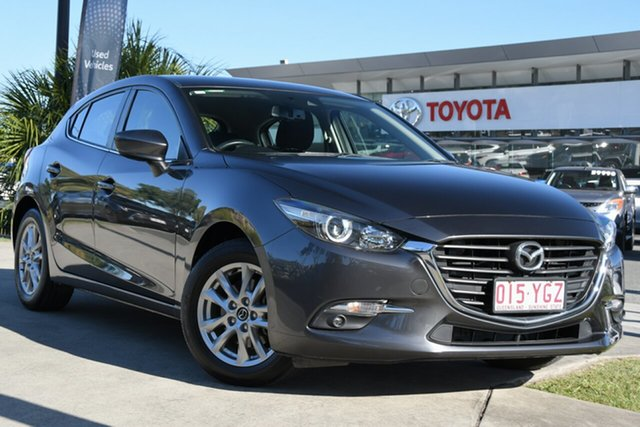 Pre-Owned Mazda 3 BN5478 Maxx SKYACTIV-Drive Sport North Lakes, 2018 Mazda 3 BN5478 Maxx SKYACTIV-Drive Sport Grey 6 Speed Sports Automatic Hatchback