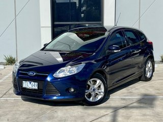 2011 Ford Focus LW Trend PwrShift Blue 6 Speed Sports Automatic Dual Clutch Hatchback.