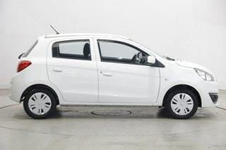 2016 Mitsubishi Mirage LA MY15 ES White 1 Speed Constant Variable Hatchback