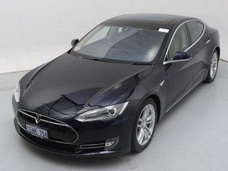 2015 Tesla Model S 85 Blue 1 Speed Automatic Hatchback