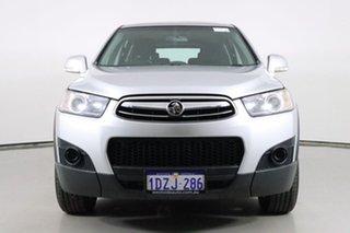 2012 Holden Captiva CG Series II 7 SX (FWD) Silver 6 Speed Automatic Wagon.