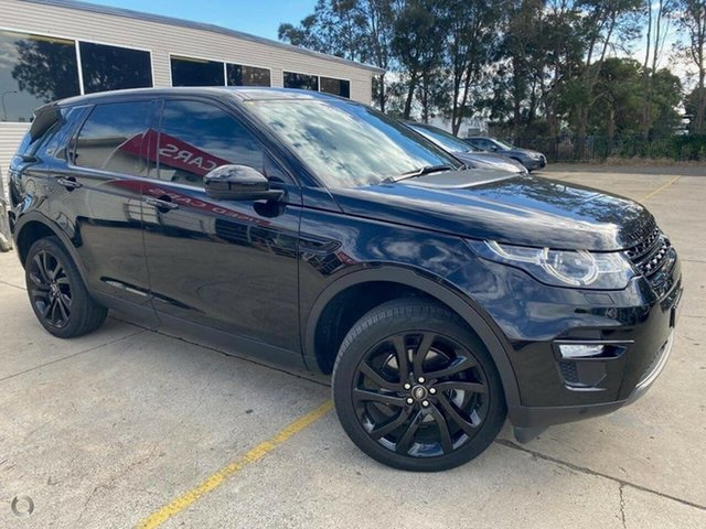 Used Land Rover Discovery Sport L550 17MY HSE Maryville, 2017 Land Rover Discovery Sport L550 17MY HSE Black 9 Speed Sports Automatic Wagon