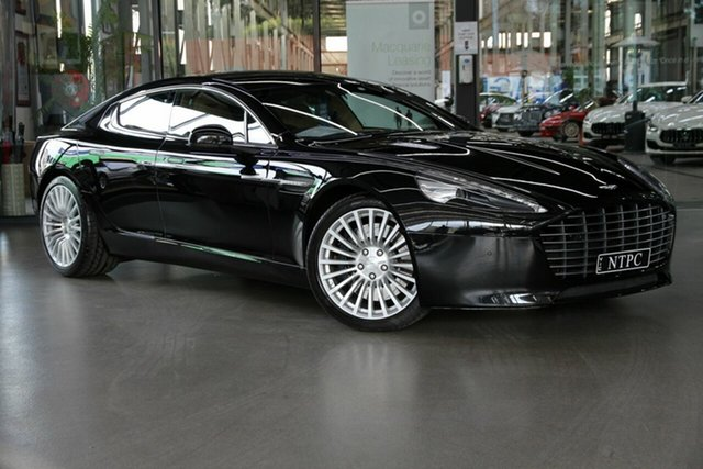 Used Aston Martin Rapide MY14 S Coupe SA North Melbourne, 2014 Aston Martin Rapide MY14 S Coupe SA Black 6 Speed Sports Automatic Hatchback