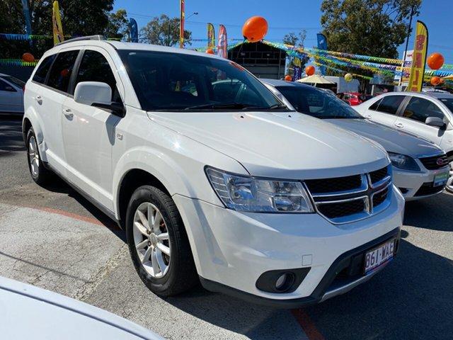 Used Dodge Journey JC MY15 SXT Morayfield, 2014 Dodge Journey JC MY15 SXT White 6 Speed Automatic Wagon