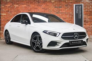 2019 Mercedes-Benz A-Class V177 800MY A200 DCT Polar White 7 Speed Sports Automatic Dual Clutch.