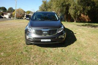 2013 Kia Sportage SL MY13 Platinum Grey 6 Speed Sports Automatic Wagon.