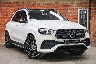 2020 Mercedes-Benz GLE-Class V167 800+050MY GLE450 9G-Tronic 4MATIC Polar White 9 Speed.
