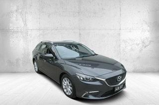 2016 Mazda 6 GJ1032 Touring SKYACTIV-Drive Grey 6 Speed Sports Automatic Wagon.